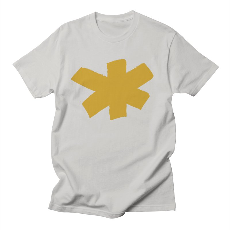 Gold Star Women's Regular Unisex T-Shirt by Eyeball Girl Creative
