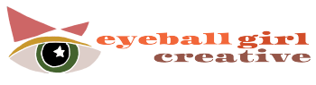 Eyeball Girl Creative Logo