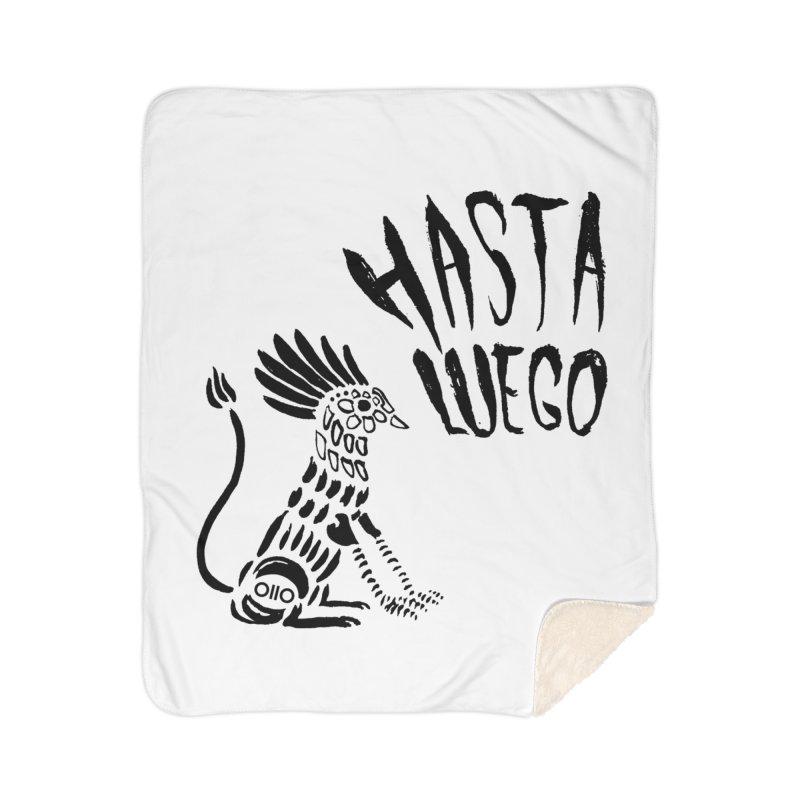 Hasta Luego Alebrije Home Blanket by Threads by @eyedraugh