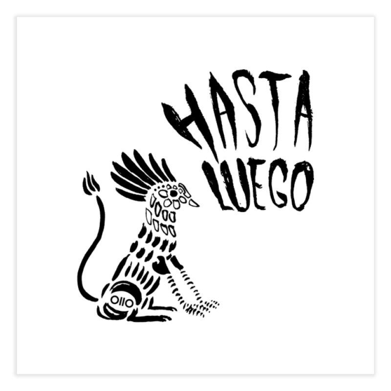 Hasta Luego Alebrije Home Fine Art Print by Threads by @eyedraugh