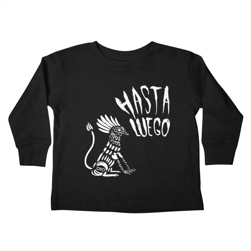 Hasta Luego Alebrije (white) Kids Toddler Longsleeve T-Shirt by Threads by @eyedraugh