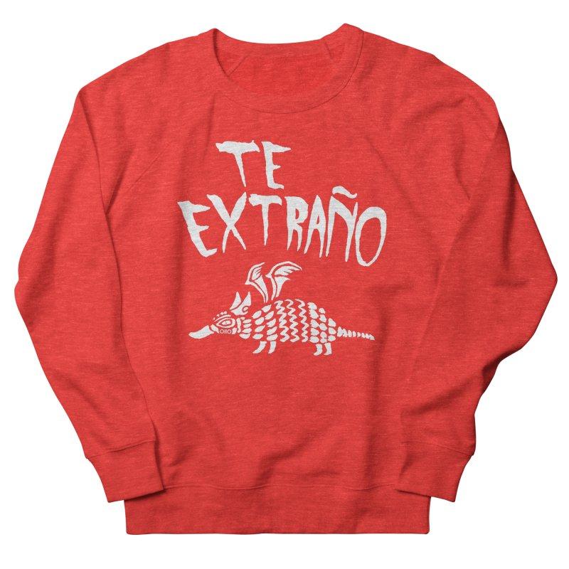 Te Extraño Armadillo (white) Women's Sweatshirt by Threads by @eyedraugh