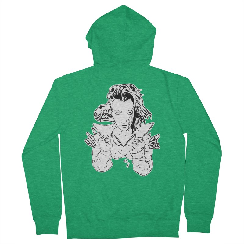 Death (October) Women's Zip-Up Hoody by Threads by @eyedraugh