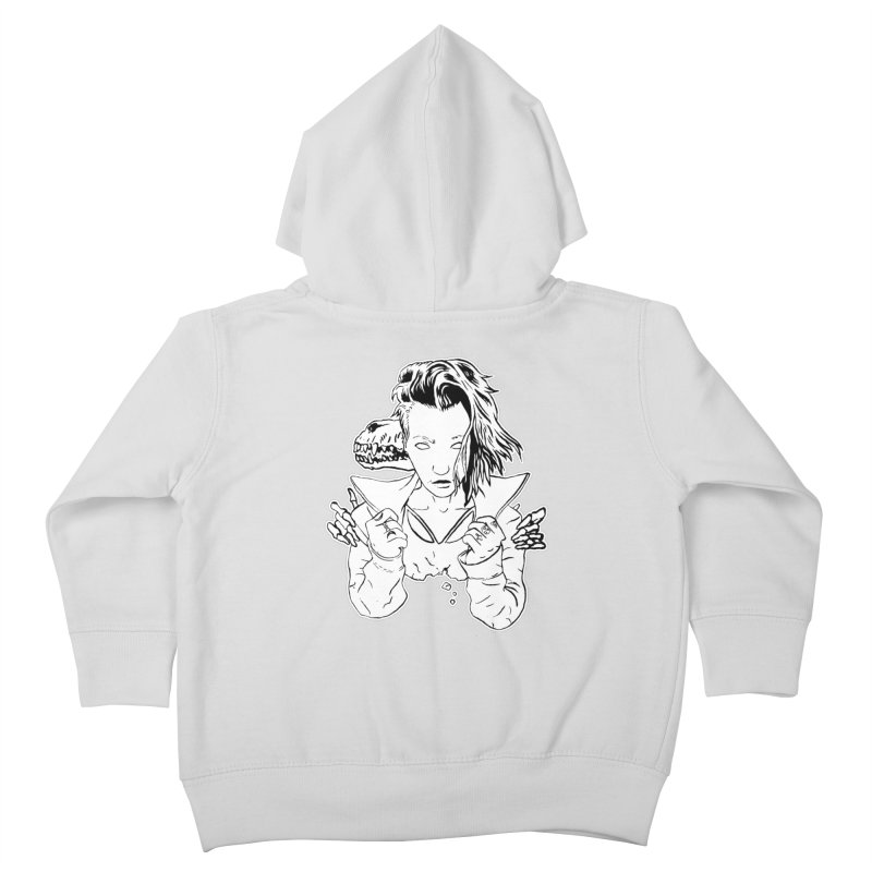 Death (October) Kids Toddler Zip-Up Hoody by Threads by @eyedraugh