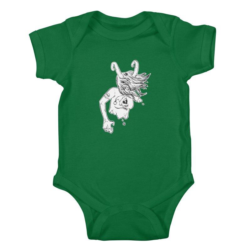 Krampus (December) Kids Baby Bodysuit by Threads by @eyedraugh
