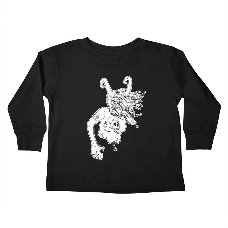 Krampus (December) Kids Toddler Longsleeve T-Shirt by Threads by @eyedraugh
