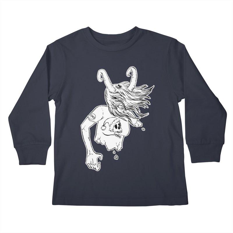 Krampus (December) Kids Longsleeve T-Shirt by Threads by @eyedraugh