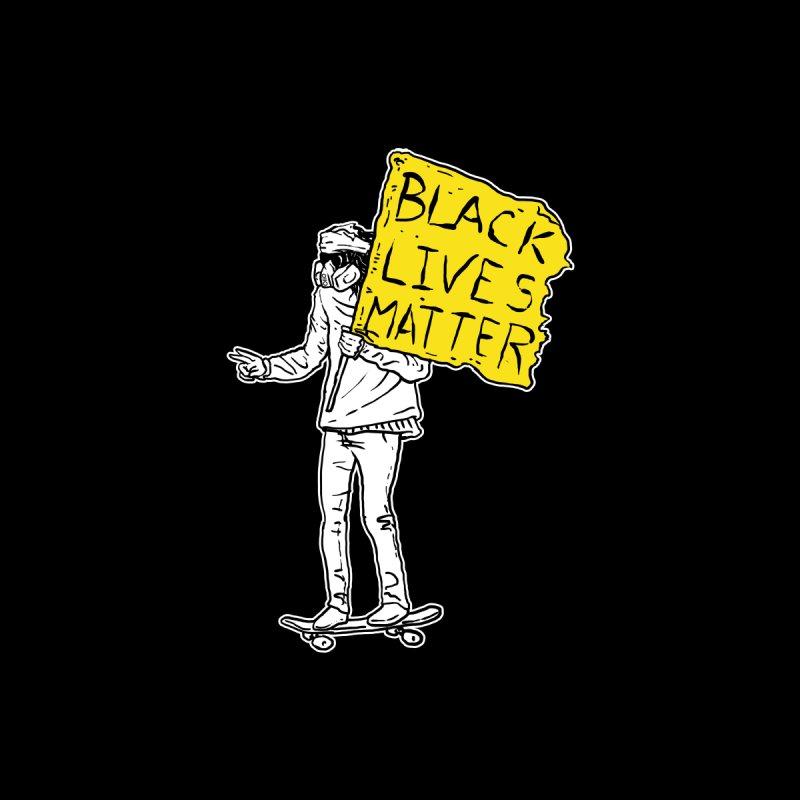 Skate for Black Lives Men's T-Shirt by Threads by @eyedraugh