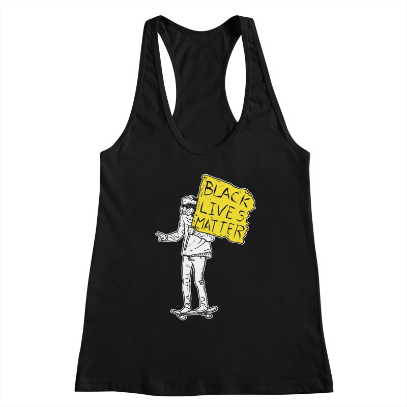 Skate for Black Lives Women's Tank by Threads by @eyedraugh