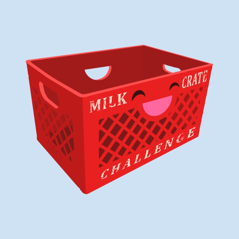 Cute Milk Crate Challenge RED Women's T-Shirt by Threads by @eyedraugh