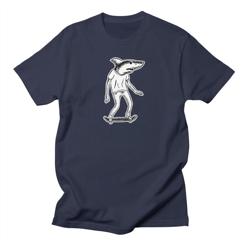 Mark the Shark Men's T-Shirt by Threads by @eyedraugh
