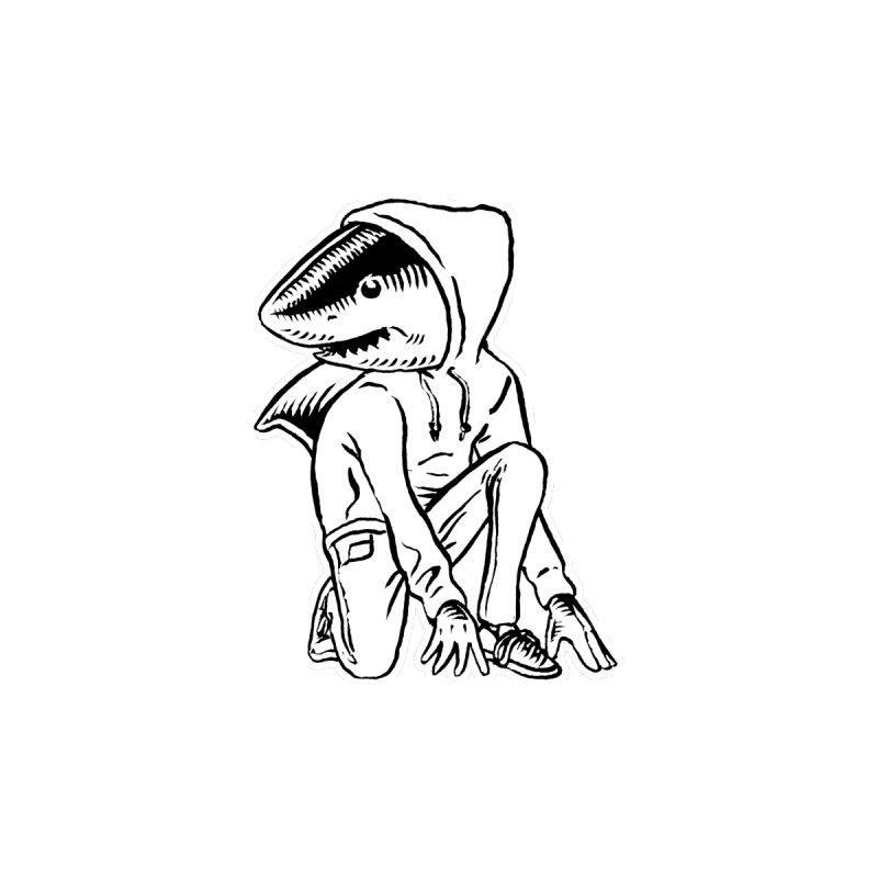 Neil the Shark Men's T-Shirt by Threads by @eyedraugh