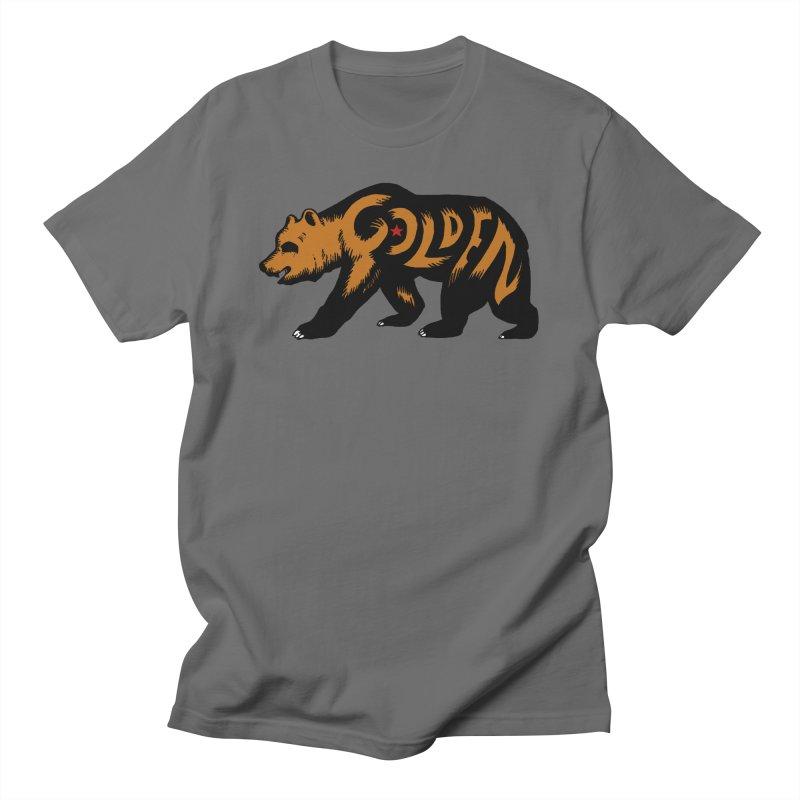 Golden Men's T-Shirt by Threads by @eyedraugh