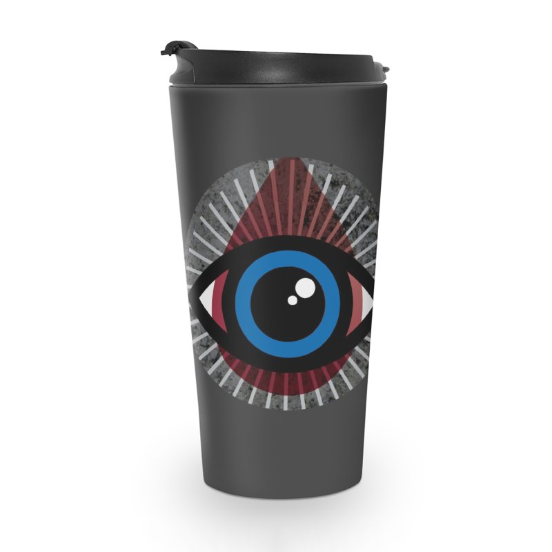 Eye for an Eye Tear Drop Accessories Travel Mug by Eye for an Eye Merch Shop