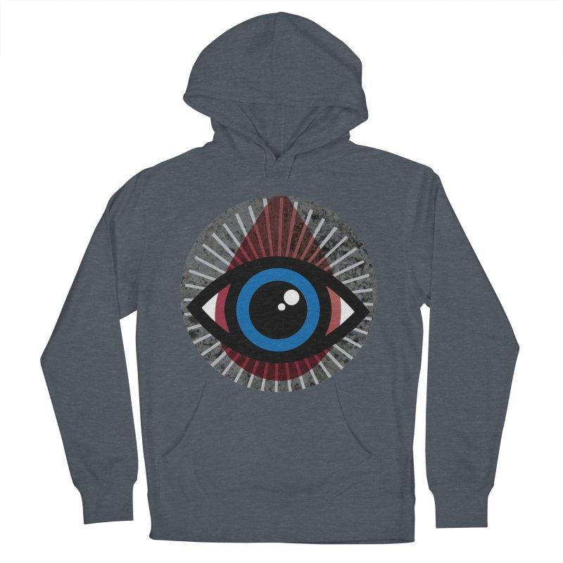 Eye for an Eye Tear Drop Women's French Terry Pullover Hoody by Eye for an Eye Merch Shop