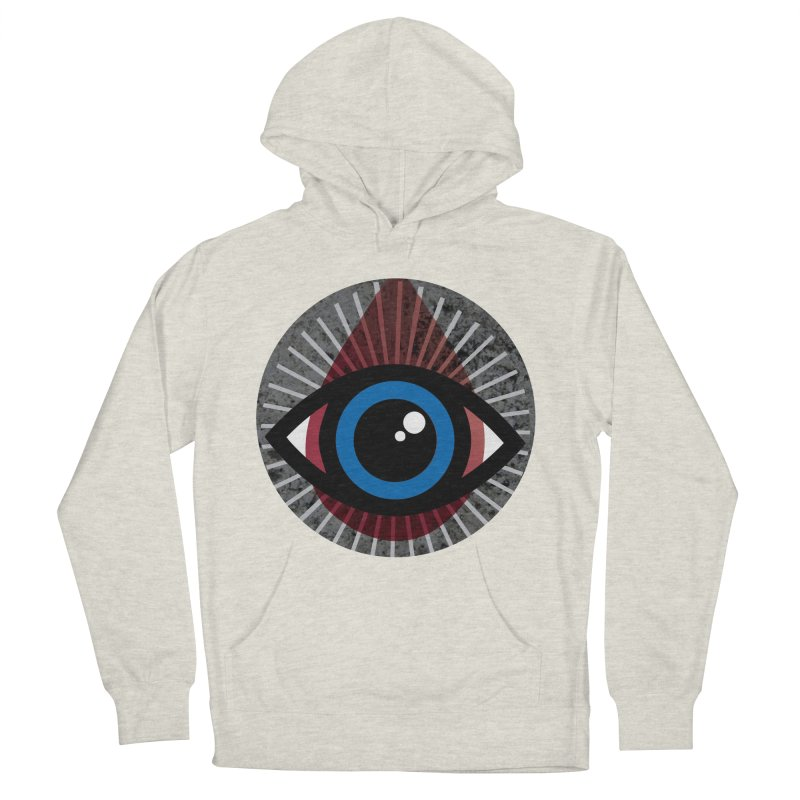 Eye for an Eye Tear Drop Women's French Terry Pullover Hoody by Eye for an Eye Merch Shop