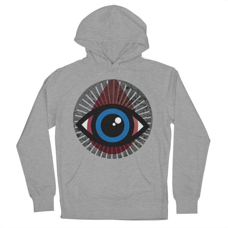 Eye for an Eye Tear Drop Men's French Terry Pullover Hoody by Eye for an Eye Merch Shop