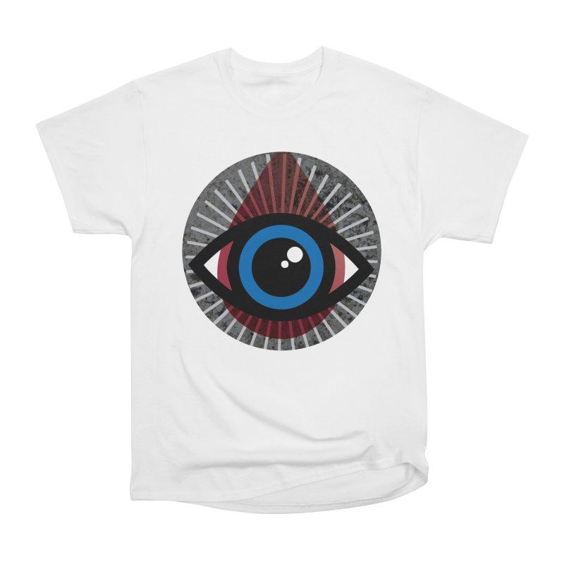 Eye for an Eye Tear Drop Men's Heavyweight T-Shirt by Eye for an Eye Merch Shop