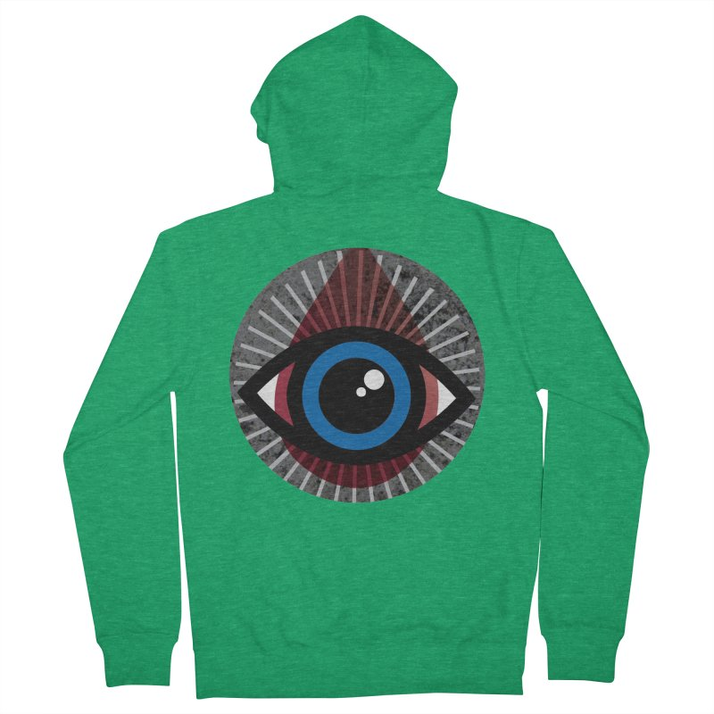 Eye for an Eye Tear Drop Women's French Terry Zip-Up Hoody by Eye for an Eye Merch Shop