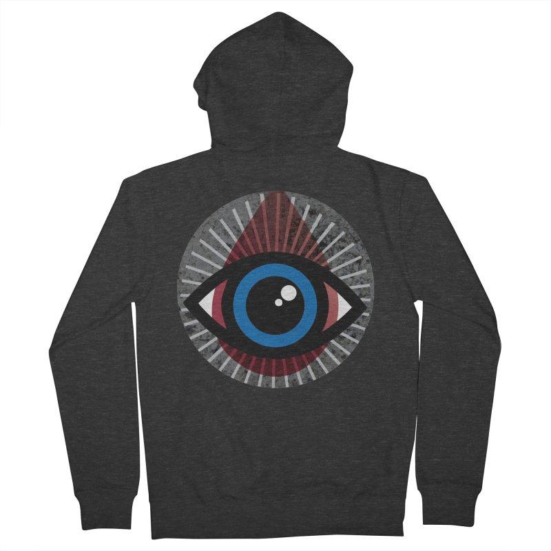 Eye for an Eye Tear Drop Men's French Terry Zip-Up Hoody by Eye for an Eye Merch Shop