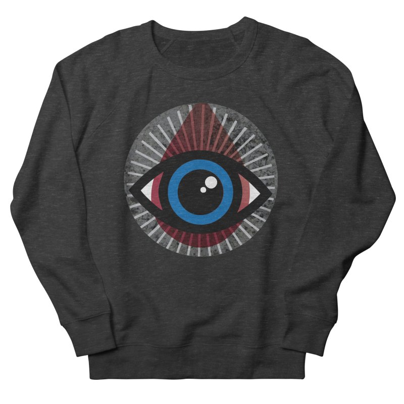 Eye for an Eye Tear Drop Men's French Terry Sweatshirt by Eye for an Eye Merch Shop