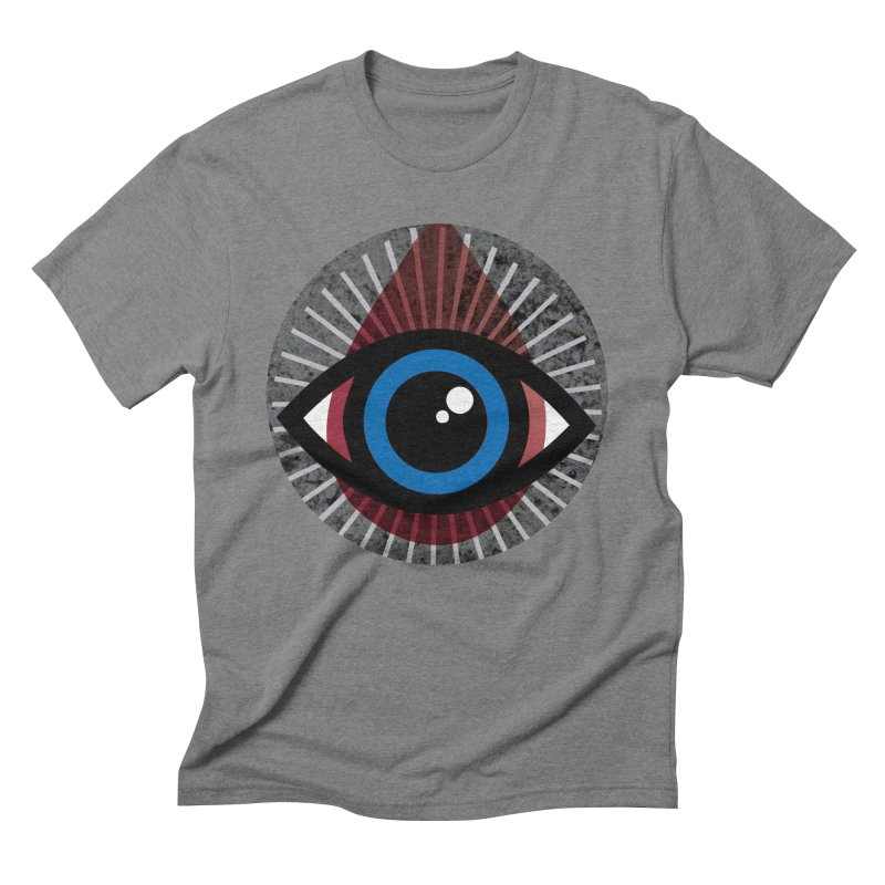 Eye for an Eye Tear Drop Men's Triblend T-Shirt by Eye for an Eye Merch Shop