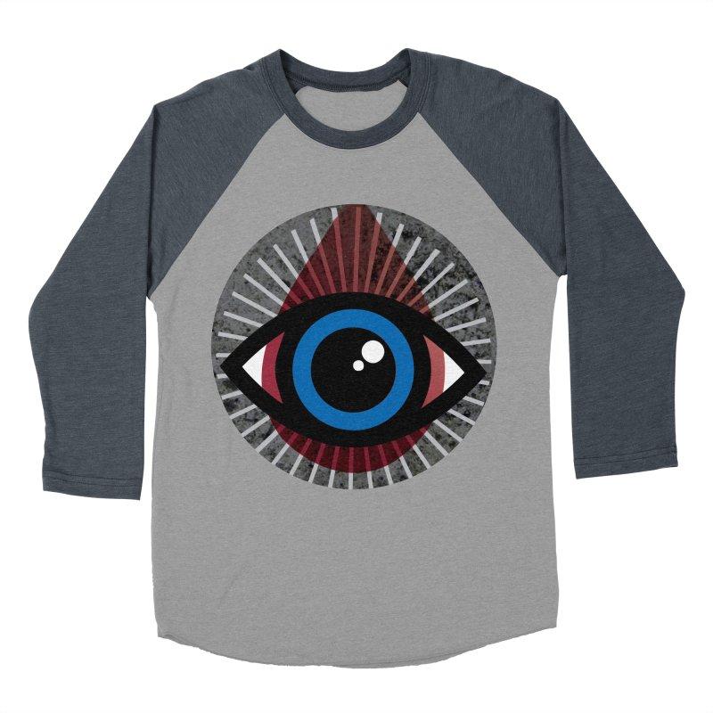 Eye for an Eye Tear Drop Women's Baseball Triblend Longsleeve T-Shirt by Eye for an Eye Merch Shop
