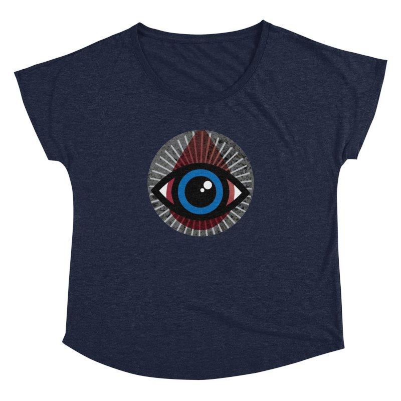 Eye for an Eye Tear Drop Women's Dolman Scoop Neck by Eye for an Eye Merch Shop