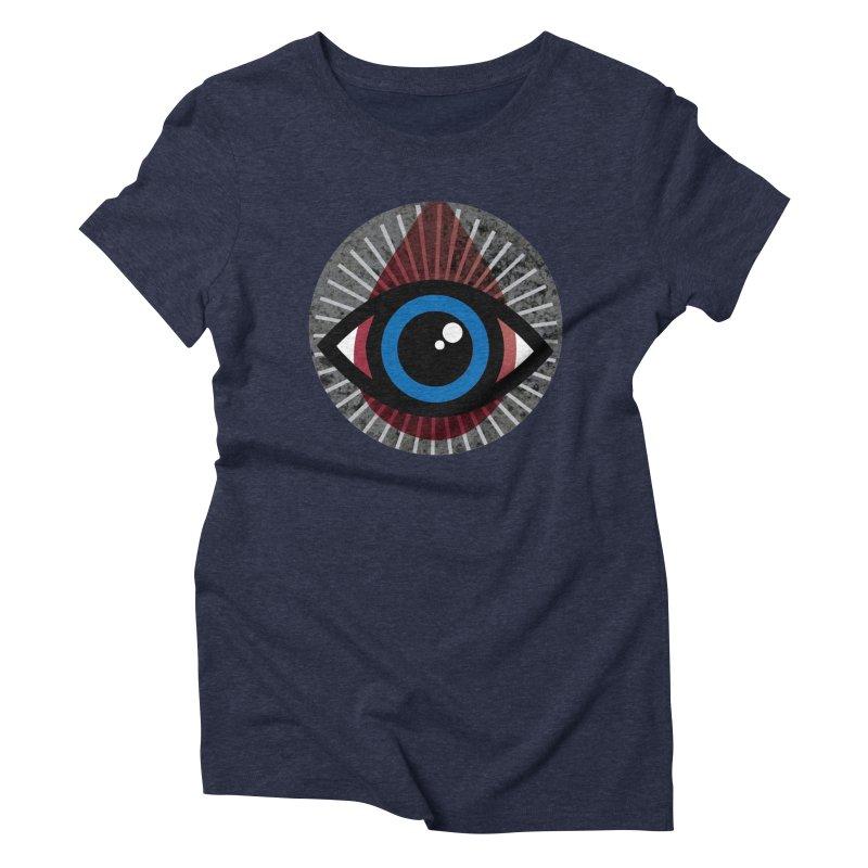 Eye for an Eye Tear Drop Women's Triblend T-Shirt by Eye for an Eye Merch Shop