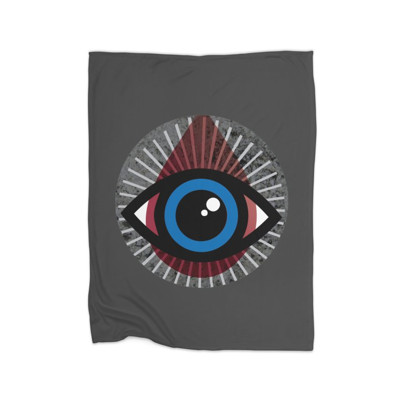 Eye for an Eye Tear Drop Home Fleece Blanket Blanket by Eye for an Eye Merch Shop