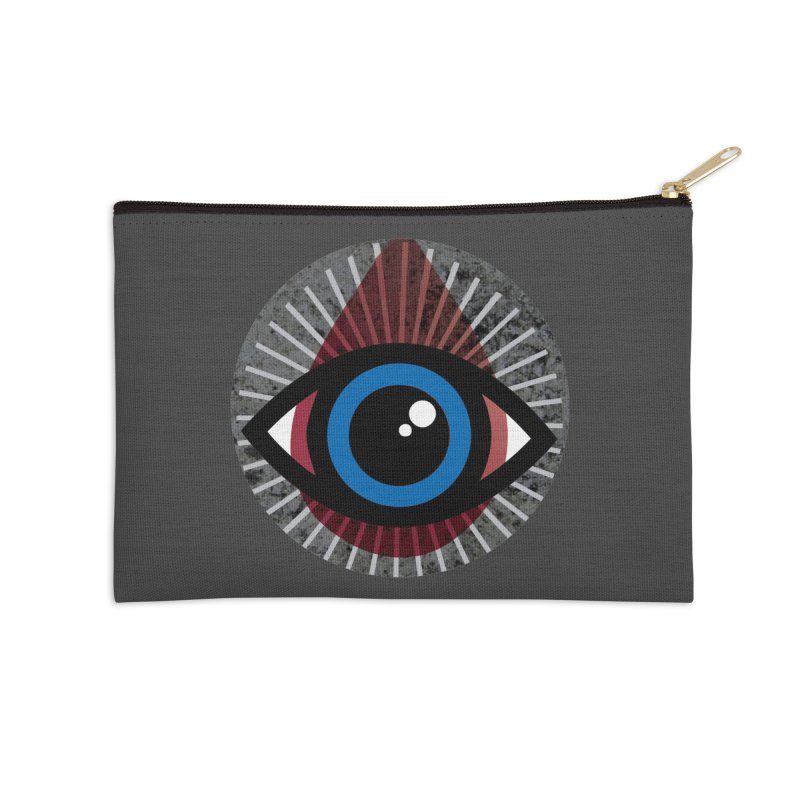 Eye for an Eye Tear Drop Accessories Zip Pouch by Eye for an Eye Merch Shop