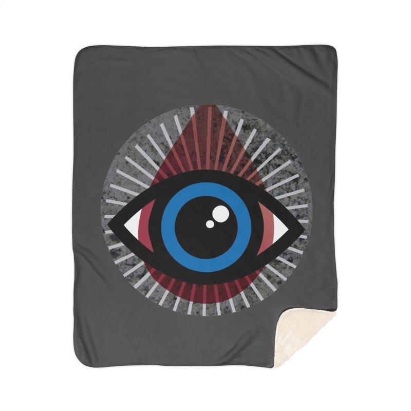Eye for an Eye Tear Drop Home Sherpa Blanket Blanket by Eye for an Eye Merch Shop