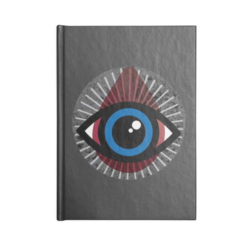 Eye for an Eye Tear Drop Accessories Lined Journal Notebook by Eye for an Eye Merch Shop