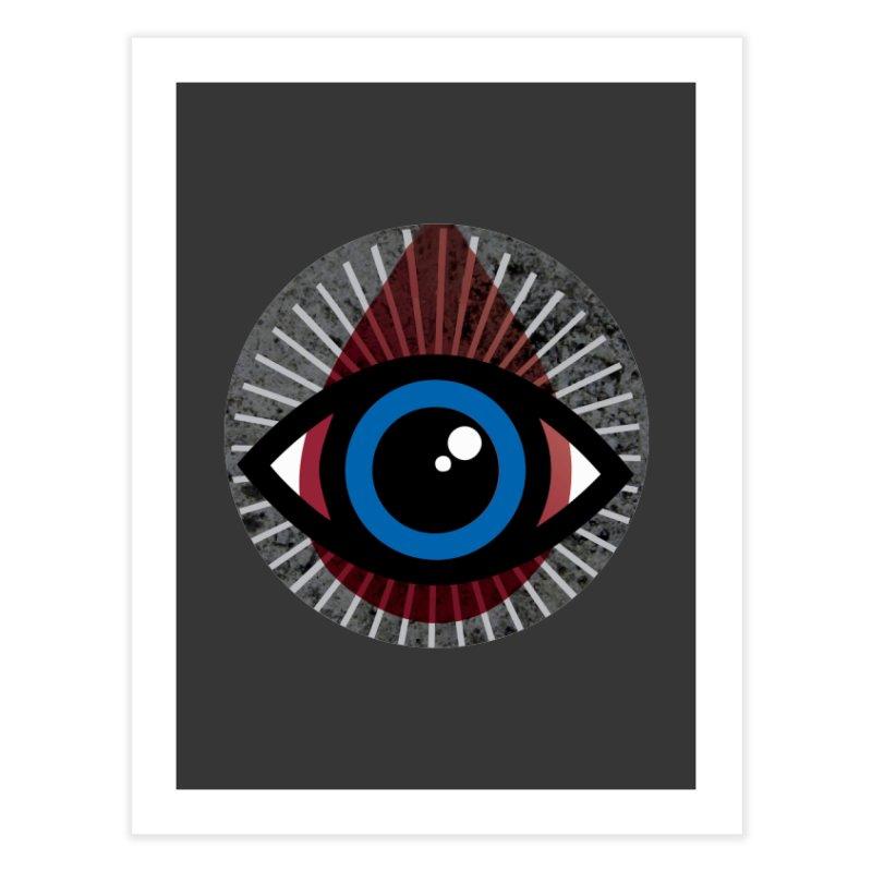 Eye for an Eye Tear Drop Home Fine Art Print by Eye for an Eye Merch Shop