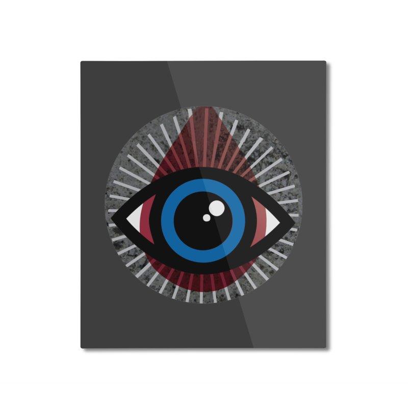 Eye for an Eye Tear Drop Home Mounted Aluminum Print by Eye for an Eye Merch Shop