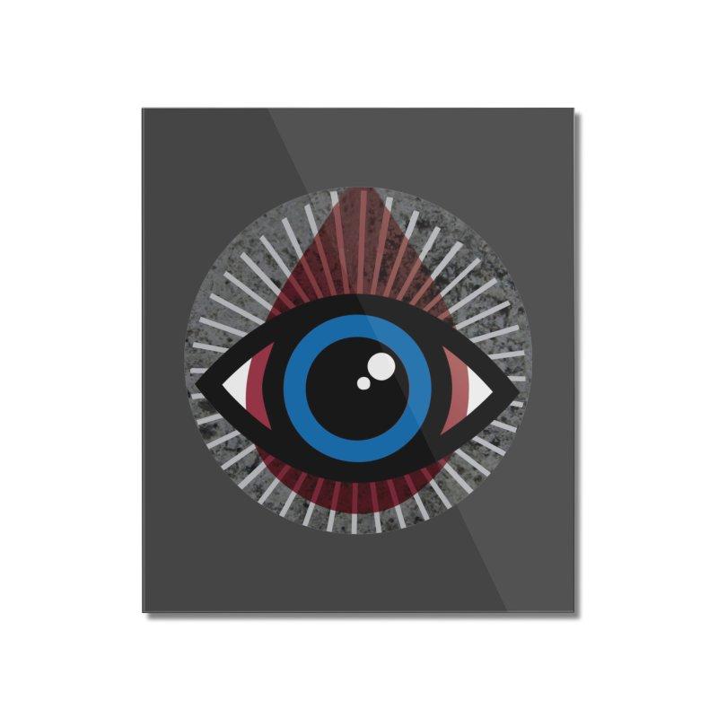 Eye for an Eye Tear Drop Home Mounted Acrylic Print by Eye for an Eye Merch Shop