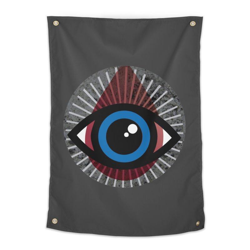 Eye for an Eye Tear Drop Home Tapestry by Eye for an Eye Merch Shop