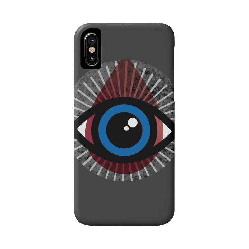 Eye for an Eye Tear Drop Accessories Phone Case by Eye for an Eye Merch Shop