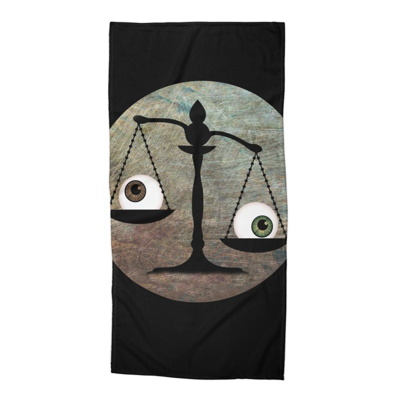 Eye for an Eye Scale Accessories Beach Towel by Eye for an Eye Merch Shop