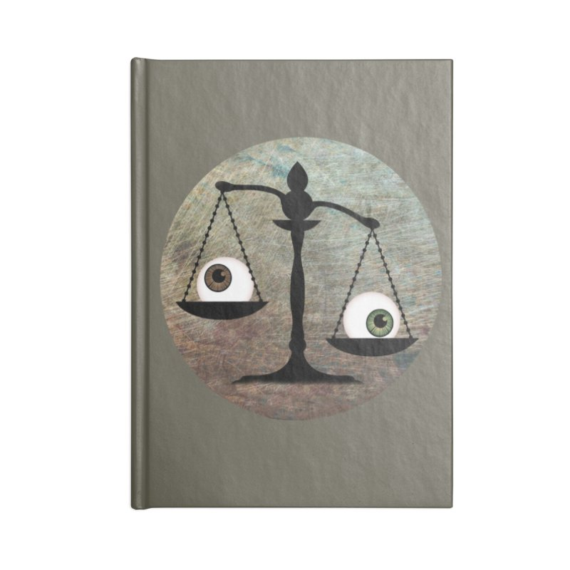 Eye for an Eye Scale Accessories Lined Journal Notebook by Eye for an Eye Merch Shop