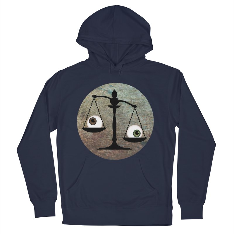 Eye for an Eye Scale Women's French Terry Pullover Hoody by Eye for an Eye Merch Shop