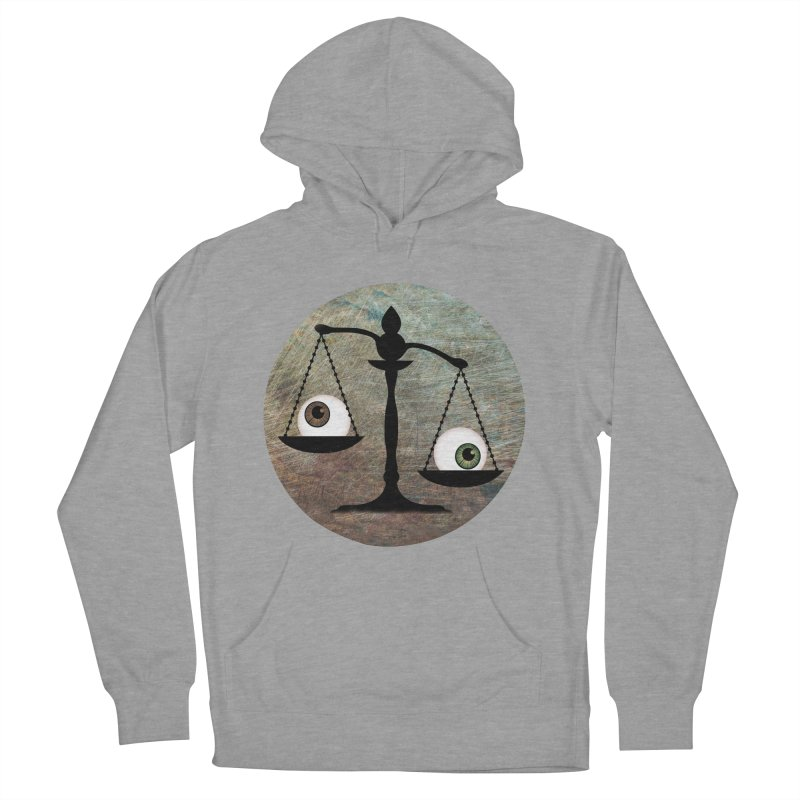 Eye for an Eye Scale Men's French Terry Pullover Hoody by Eye for an Eye Merch Shop