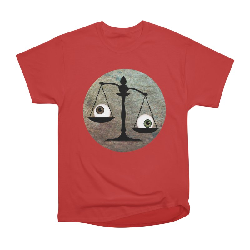 Eye for an Eye Scale Women's Heavyweight Unisex T-Shirt by Eye for an Eye Merch Shop