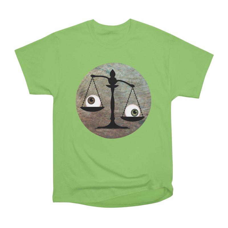 Eye for an Eye Scale Men's Heavyweight T-Shirt by Eye for an Eye Merch Shop