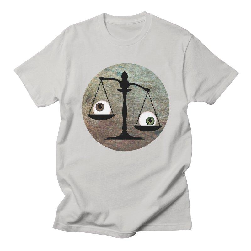 Eye for an Eye Scale Men's Regular T-Shirt by Eye for an Eye Merch Shop