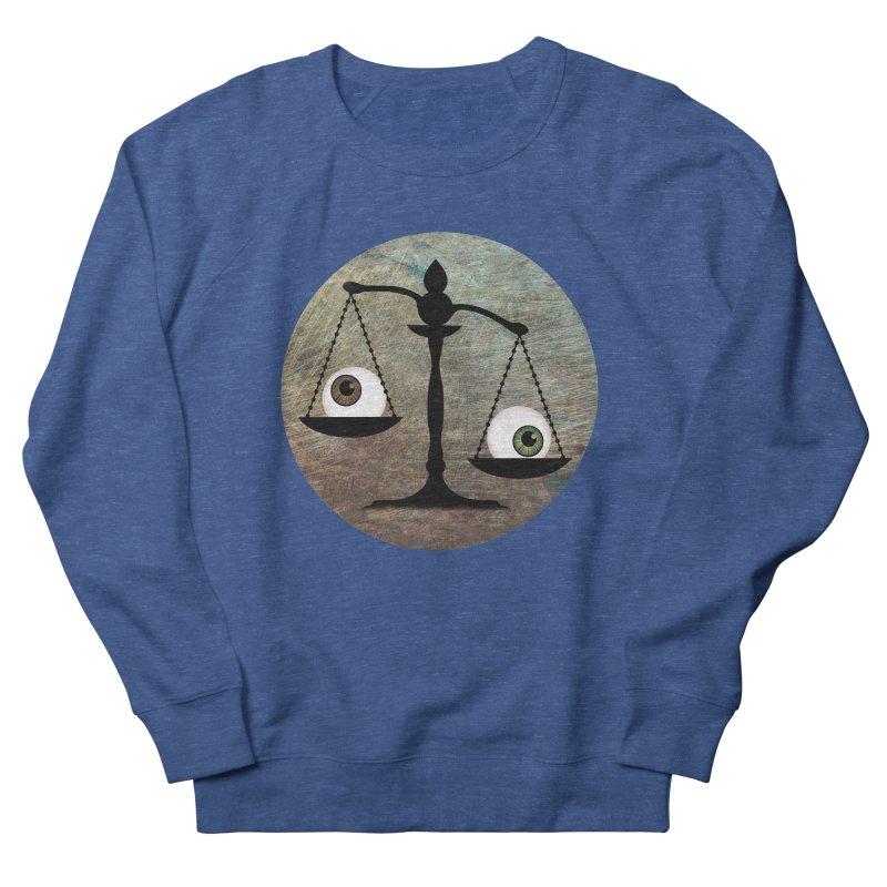 Eye for an Eye Scale Women's French Terry Sweatshirt by Eye for an Eye Merch Shop