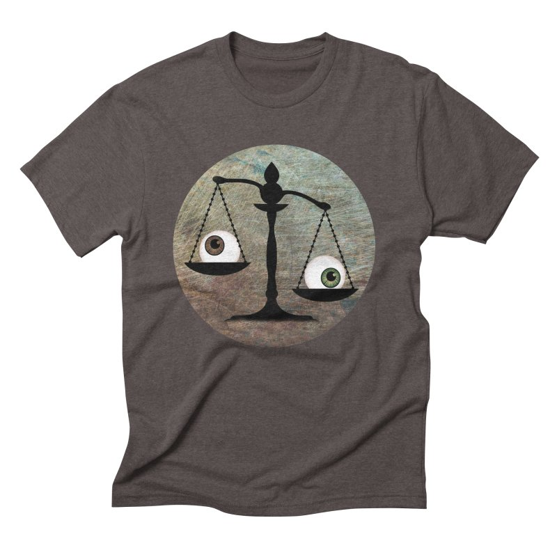 Eye for an Eye Scale Men's Triblend T-Shirt by Eye for an Eye Merch Shop