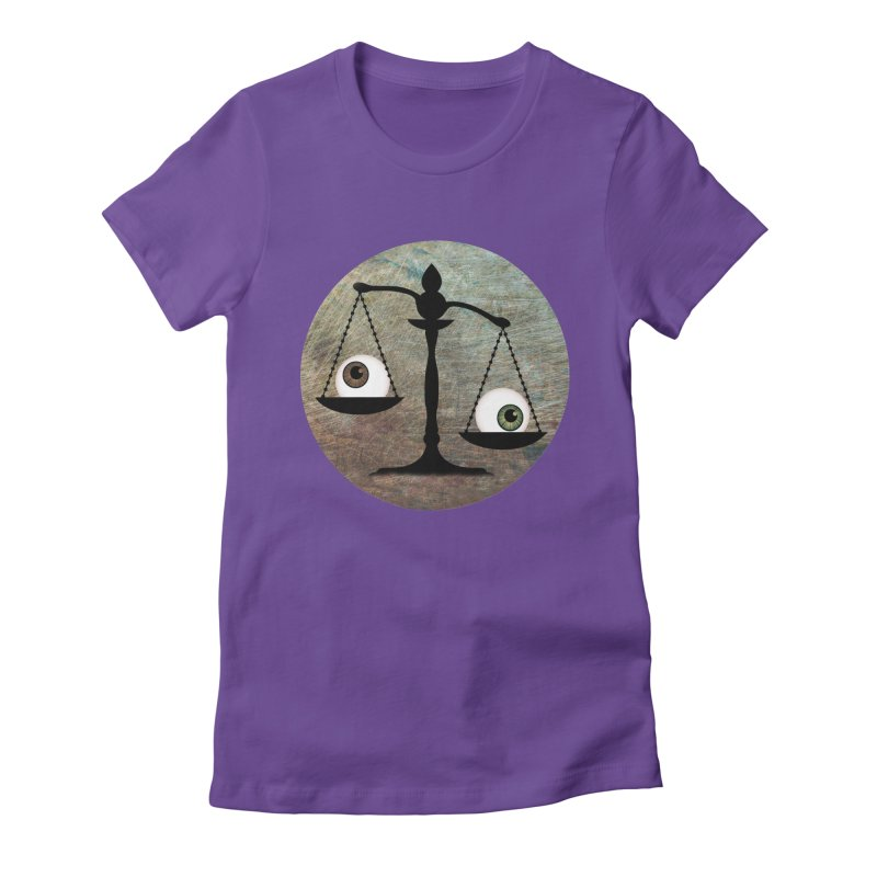 Eye for an Eye Scale Women's Fitted T-Shirt by Eye for an Eye Merch Shop