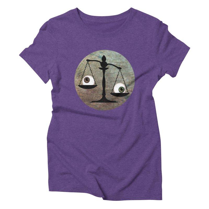 Eye for an Eye Scale Women's Triblend T-Shirt by Eye for an Eye Merch Shop
