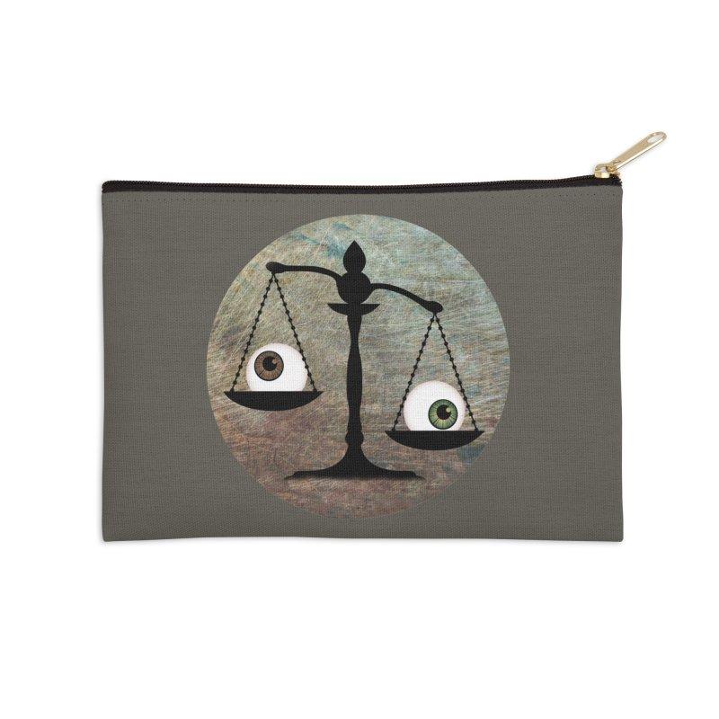 Eye for an Eye Scale Accessories Zip Pouch by Eye for an Eye Merch Shop
